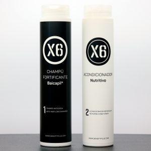 Baicapil Fortifying Shampoo X6 + Nourishing Conditioner X6