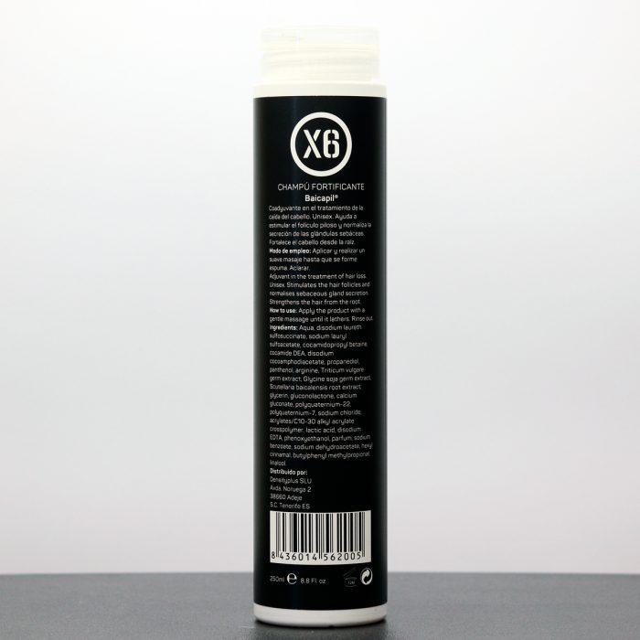 Baicapil Fortifying Shampoo X6