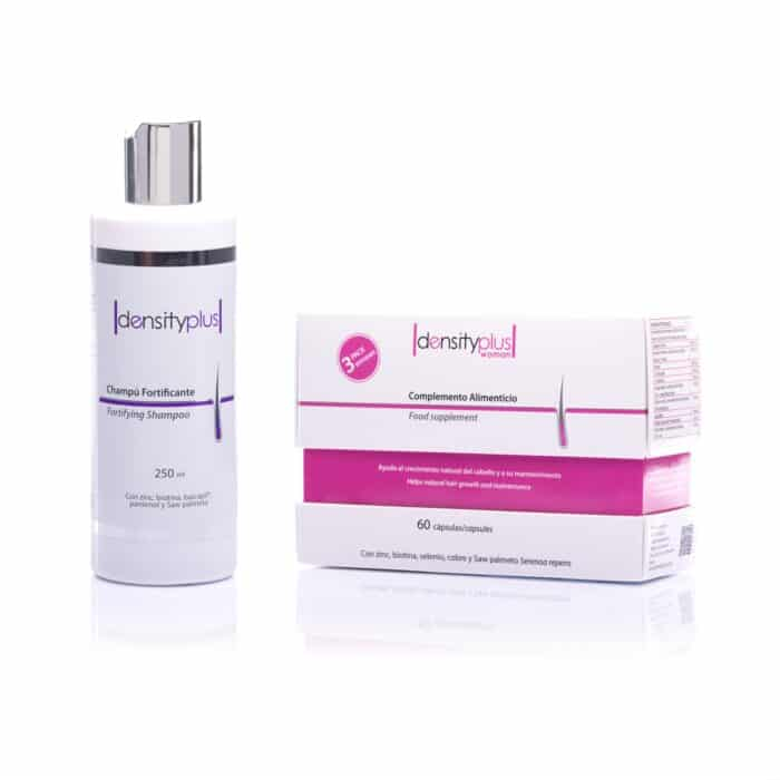 Offerta - Shampoo Fortificante + Density Plus Woman – Pack 3 mesi
