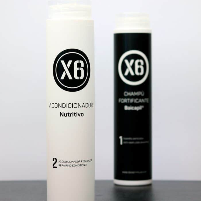 Baicapil Shampoo Fortificante X6 + Balsamo Nutriente X6