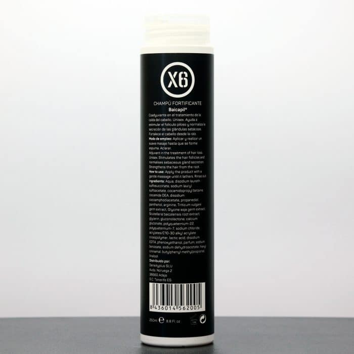 Shampoo fortificante Baicapil X6